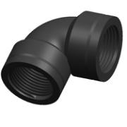 ELBOW PLASTIC-BEND FEM 3/4X3/