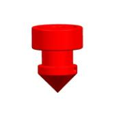 RED DRIPPER 15L/HR 25PCS