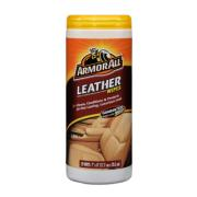 WIPES FOR LEATHER SURFACES IN TUB