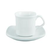 STUDIO HOUSE COFFEE CUP WHITE X6 SQUARE