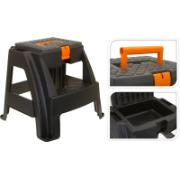 FX STOOL + TOOL-BOX BL/OR