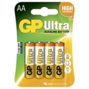 GP AA BATTERIES 4 PC ALKALINE