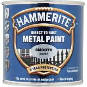 HAMMERITE SMOOTH SILVER 250ML