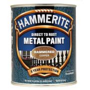 HAMMERITE HAMMERED COPPER 750ML