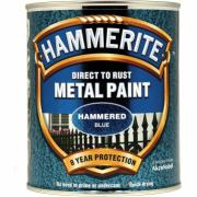 HAMMERITE HAMMERED DARK BLUE 750ML