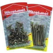 WRET-MET 16pcs WOOD SCREW 5x40mm