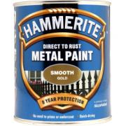 HAMMERITE SMOOTH GOLD 750ML