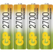 GP AA BATTERIES 2700 MAH 4PCS