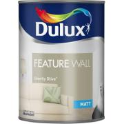 DULUX RE OVERTLY OLIVE FEATURE 1.25Ltr