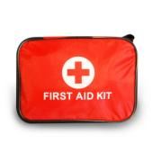 FIRST AID KIT RED BAG
