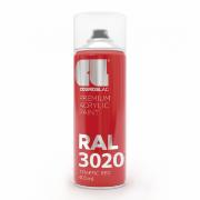 TRAFFIC RED RAL3020 N312 SPRAY