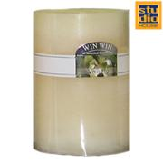 STUDIO HOUSE WIN CANDLE BEIGE 4.5X5CM (VANILLA)