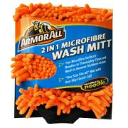 ARMOR ALL  2 in 1 MICROFIBRE WASH MITT