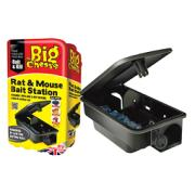 BIG CHEESE RAT & MOUSE BAIT STATION