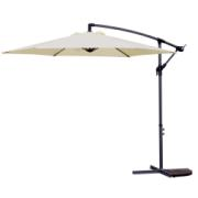 BANANA 3M ALUM UMBRELLA NATURAL