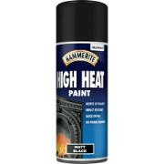 HAMMERITE BLACK MATT HI-HEAT 400ML