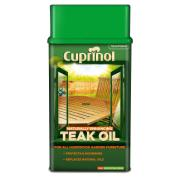CUPRINOL TEAK OIL NEW WB 1Ltr