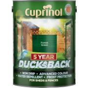 CUPRINOL FOREST GREEN DUCKSBACK 5Ltr