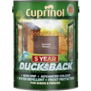 CUPRINOL HARVEST BROWN DUCKSBACK 5Ltr