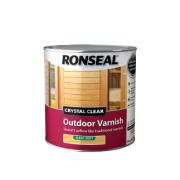 RONSEAL® CRYSTAL CLEAR OUTDOOR VARNISH - MATT 2.5L