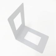 ELEMENT SQUARE BOOK END WHITE