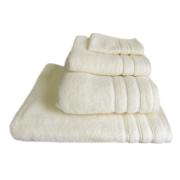 HAND TOWEL IVORY FLUFFY 30X30 500