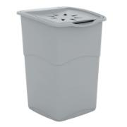 KIS KORAL LAUNDRY BASKET 47L GREY