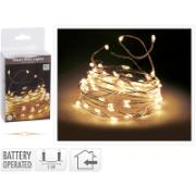 XMAS SILVERWIRE 80LED WW BO