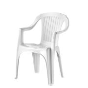 VERONA ARM CHAIR LOW BACK WHΙTΕ