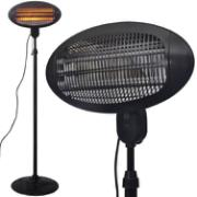PATIO HEATER FLOORMODEL 2000W