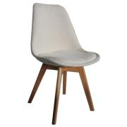 VIVA FABRIC CHAIR WHITE