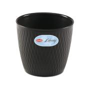 STEFANPLAST LIBERTY POT 25CM ANTHRACITE