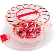 CAKE HOLDER BERRIES 28CM RND