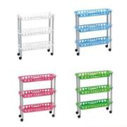 KITCHEN TROLLEY 4T 40X30X88CM 4A