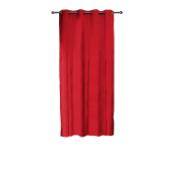 CURTAIN SILK 140X250 BORDEAUX
