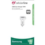 CELLULAR LINE  USB CHARGER SAMSUNG 10W WH