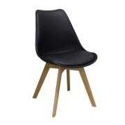 MARIA PP DINING CHAIR BLACK