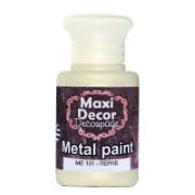 MAXI DÉCOR ACRYLIC METALLIC CODE 101 60ML