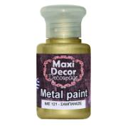 MAXI DÉCOR ACRYLIC METALLIC CODE 121 60ML