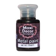 MAXI DÉCOR ACRYLIC METALLIC CODE 140 60ML
