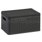 DEA STORAGE BOX DECORA 9L ANTHR