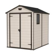 KETER MANOR SHED 6Χ5FT BEIGE