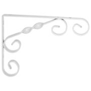 ELEMENT ORNAMENT BRACKET 11.5X11.5CM WHITE