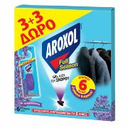 AROXOL FULL SEASON ΣΚΟΡΟΚΤΟΝΑ GEL 3+3