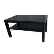 MIAMI COFFEE TABLE90X45X45CM BLACK