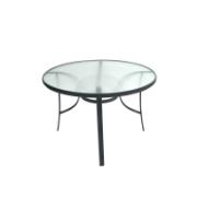 BRISTOL SLING TABLE 105CM GREY
