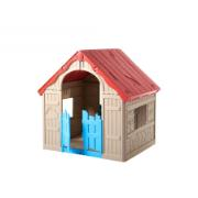 KETER FOLDABLE PLAY HOUSE BLUE DOOR