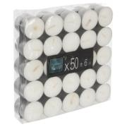 WHITE LIGHT CANDLES 50PCS