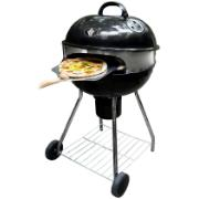 BBQ ON WHEELS WITH PIZZA RING