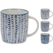 MUG PORCELAIN 340CC 4 ASSORTED COLORS